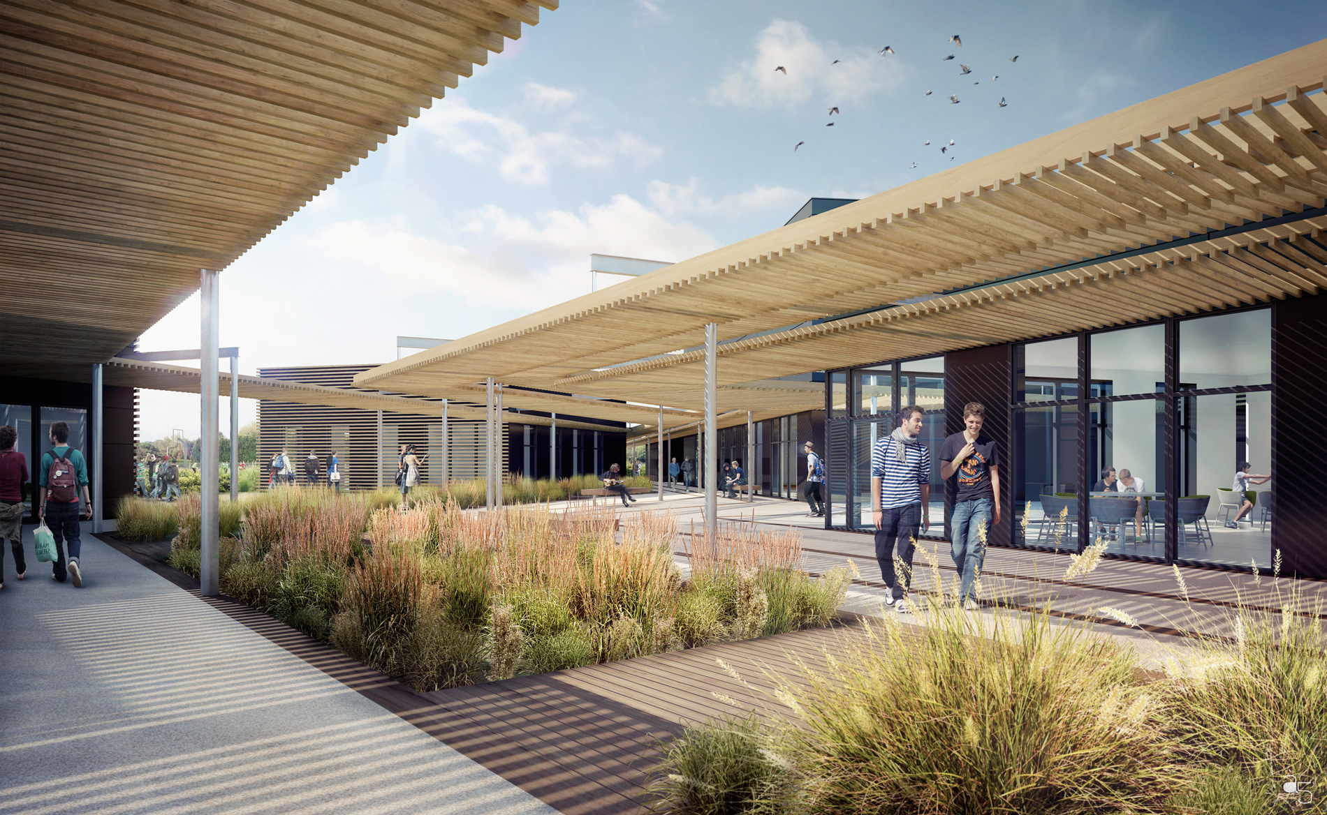 L2 Architectes - concours Centre CFA Chasseneuil sur Bonnieure