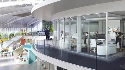 siège RCM Mercedes Benz - PAD Architectes