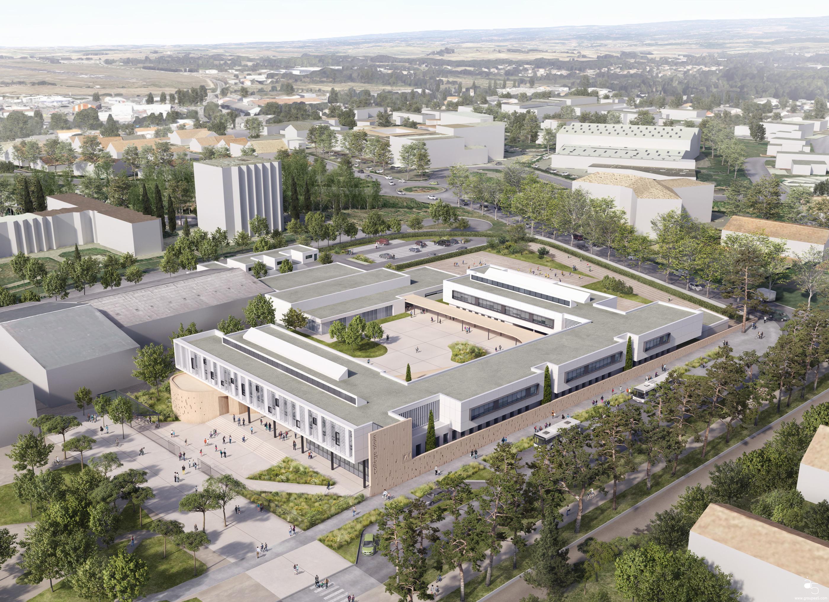 Hellin-Sebbag_Architectes_concours_collège_Alain_Carcassonne