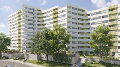 Aura architectes - Nantes - beaulieu2 - résidence réhabilitation - archiviz - image de synthèse - groupe à5